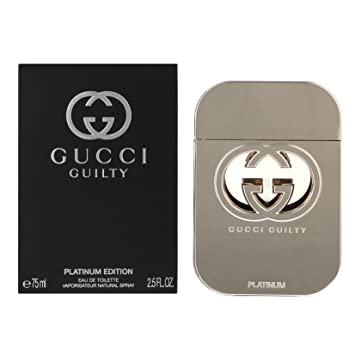 047c30495a9 Amazon.com  Gucci Guilty Platinum Edition Eau De Toilette Spray for Women