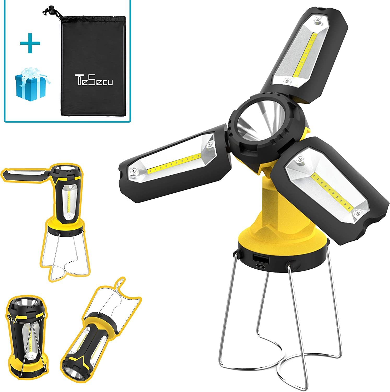 Portable USB LED Camping Hiking Light Lamp FlashLight Outdoor Sport Tent Lantern