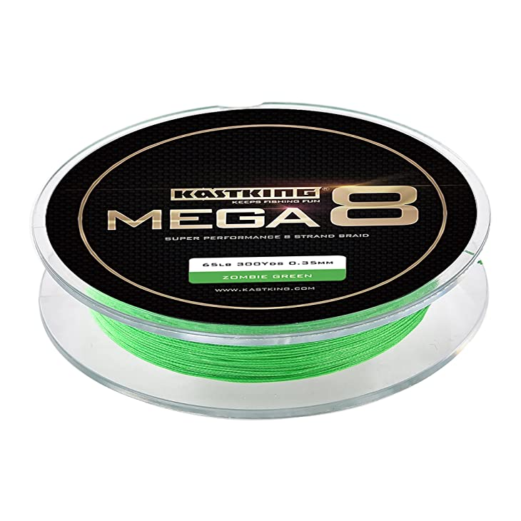 KastKing Mega 8 Super Performance 8-Strand Braid Fishing Line