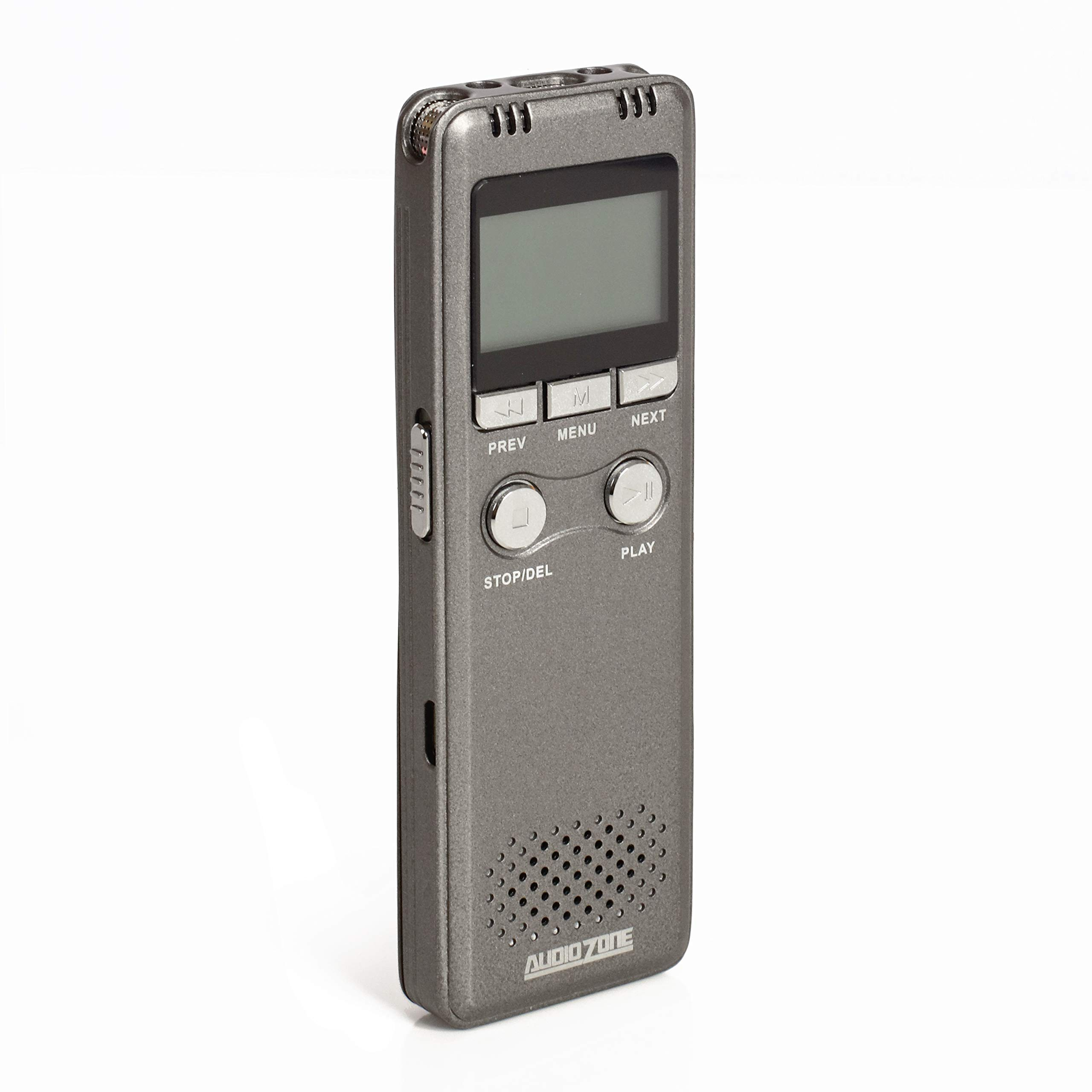 Audio Zone 8GB Digital Voice Recorder, Lightweight and Crystal Clear. Designed for Kids and Adults