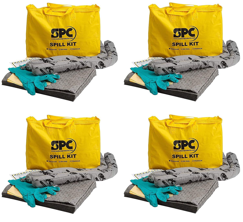Brady SPC Allwik Universal Economy Portable Spill Kit Pack of 3 107795