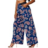 Premium Women's Palazzo Pants with Pockets -...