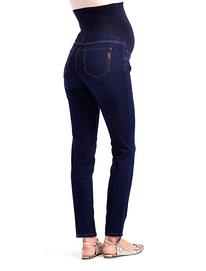 24b518acfaaf7 Motherhood Maternity Jessica Simpson Petite Secret Fit Belly Jegging  Maternity Jeans at Amazon Women's Clothing store: