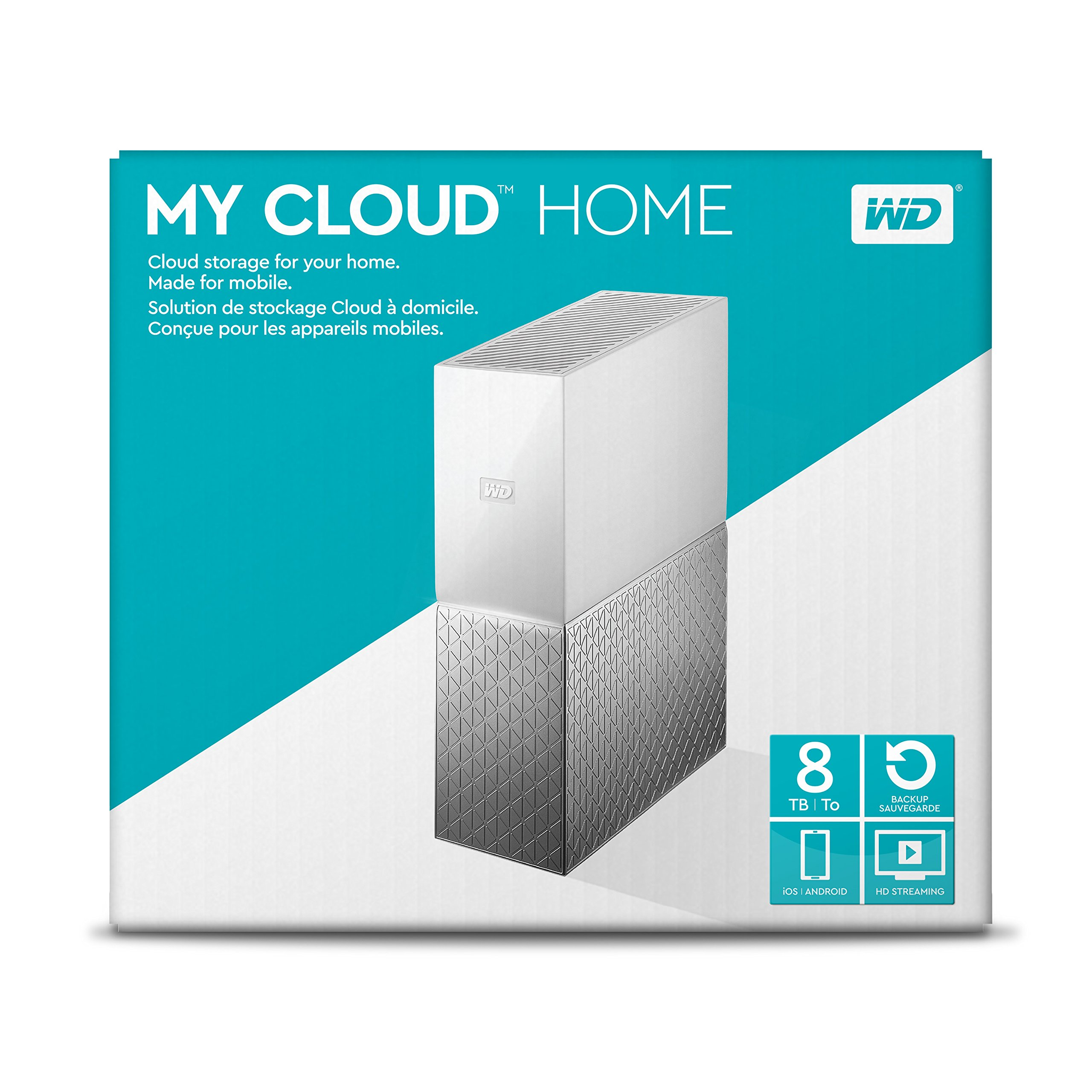 WD 8TB My Cloud Home Personal Cloud Storage - WDBVXC0080HWT-NESN by Western Digital (Image #6)
