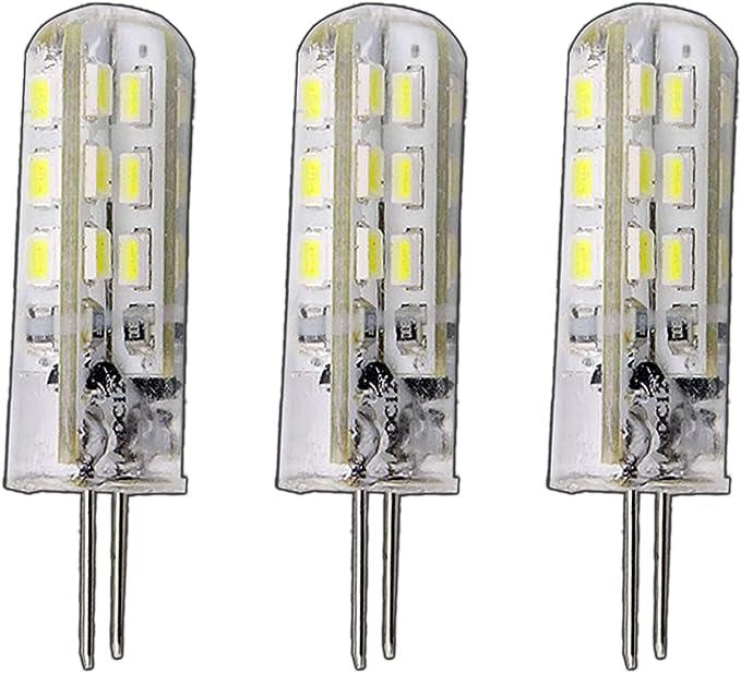 5x G4 LED Licht Lampe leuchten 24 LED SMD 3W AC//DC 12V Glühbirnen Deutsche Post