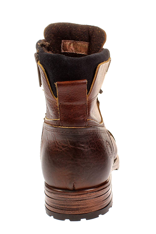 Coxx MAGOZ6144.11 - Herren Schuhe Stiefel Stiefel - - - Camel-Navy 3645c4