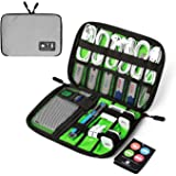 ECOSUSI Travel Organizer for Electronics Accessories Hard Drives (Gray)