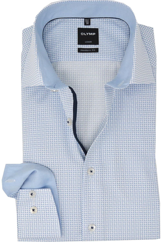 TALLA 46. Unbekannt Camisa Formal - Cuello Kent - para Hombre