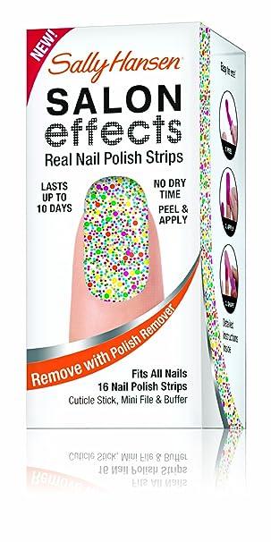 Salon Effect Real Nail Polish Strips By Sally Hansen 210 Frock Star