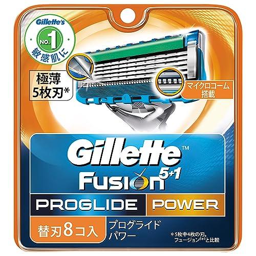 ジレット プログライド フレックスボール パワー 髭剃り 替刃 8コ入