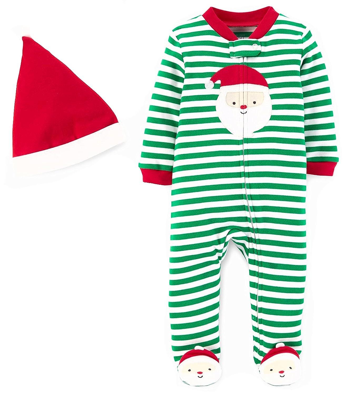 9fb670b913b4 Amazon.com  Carter s Just One You Baby Boys 2pc Striped Sleep N ...
