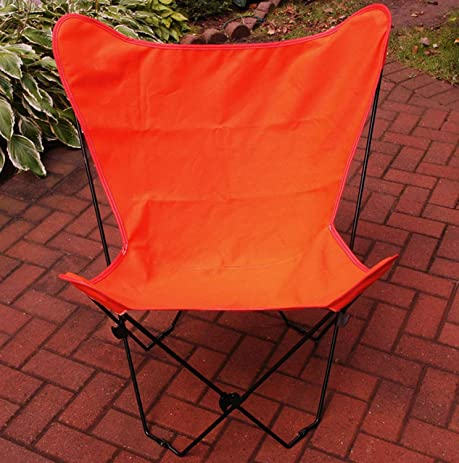 Tangelo Orange Replacement Cover For Retro Folding Butterfly Chair