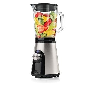 Princess Blender Compact - Licuadora (0,8 L, Batidora de vaso, Acero inoxidable, Poder, Vidrio, Acero inoxidable): Amazon.es: Hogar