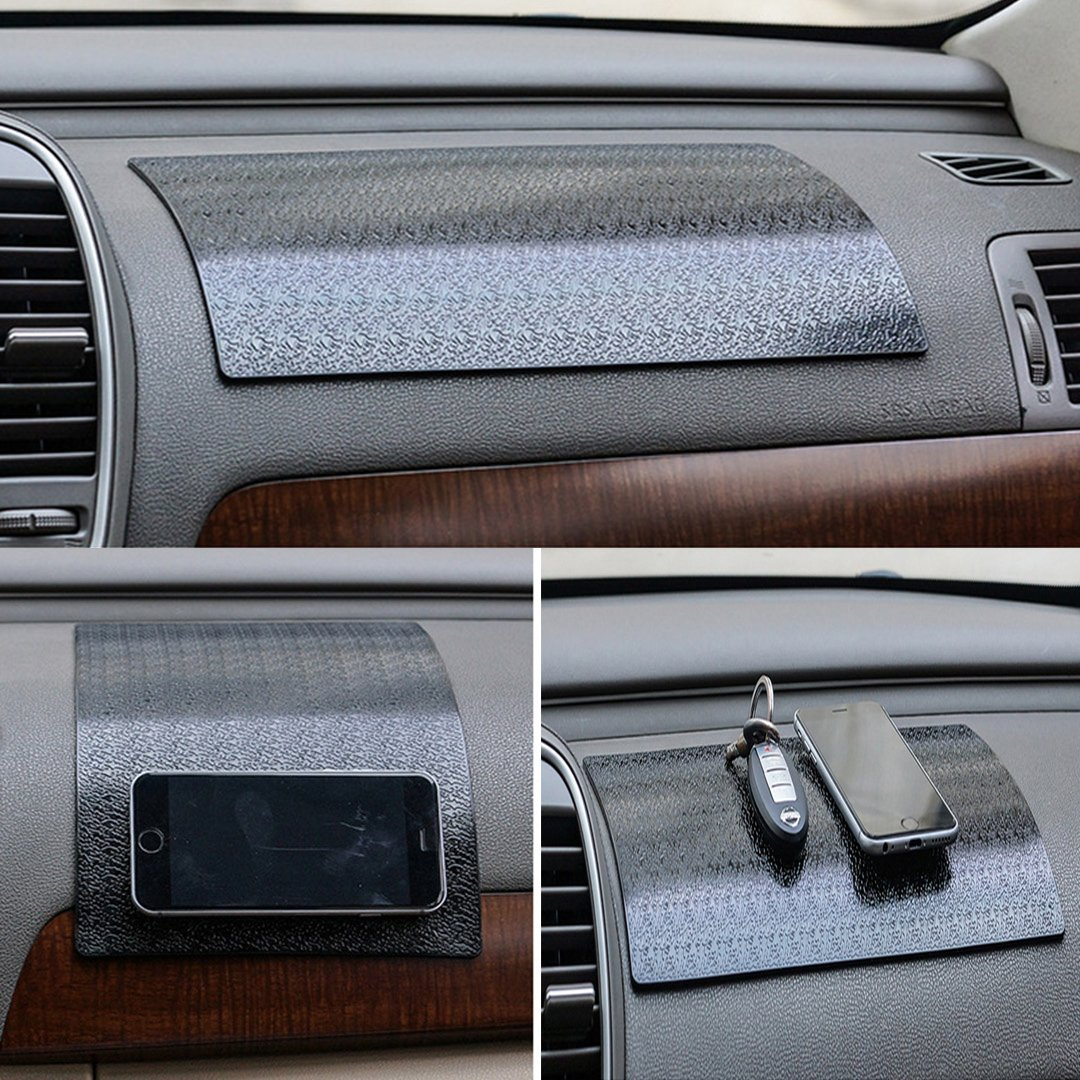 Monnaie. Silicone Tapis Collant Anti-Derapant // Anti-Glisse pour Tenir Telephone pour Tableau de bord voiture HICYCT Tapis de voiture autocollant antid/érapant Lignes 270*150mm