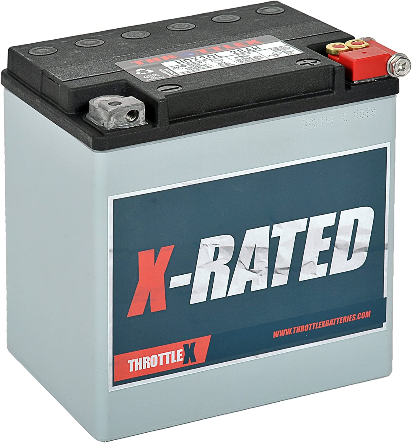 Harley Davidson Battery >> Throttlex Hdx30l Made In America Harley Davidson Replacement Motorcycle Battery