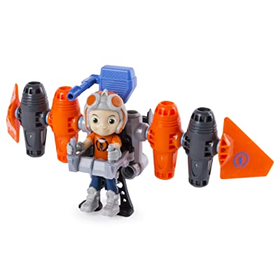 RUSTY RIVETS – Jet Pack Building Set with Rusty Figure, for Ages 3 and Up: Toys & Games