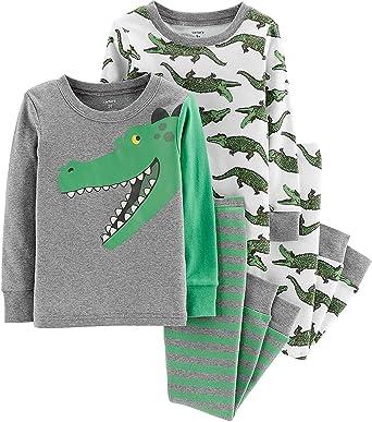 f6373a05410b Amazon.com  Carter s Toddler Boys 4 Pc Pajama PJs Sleep Play Sleep ...