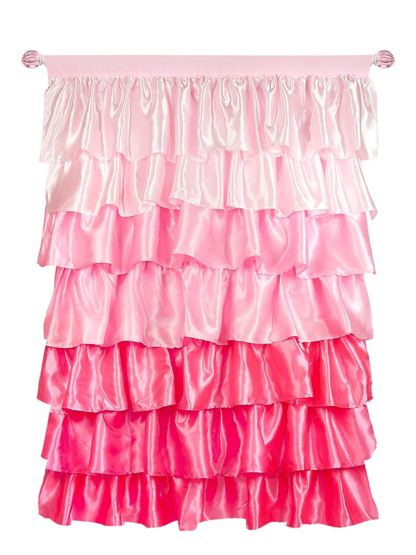 Tadpoles Curtain Panel, Pink, 2-Pounds Sleeping Partners DPNSSN004
