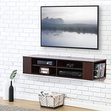 00a82002391 FITUEYES Floating TV Stand Shelf Console