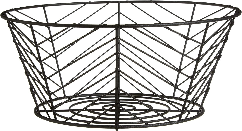 Eisen 26x26x28 Premier Housewares Vertex Aufbewahrungskorb Schwarz