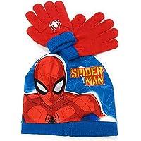 ARDITEX SM13269 Set de Guantes mágicos y Gorro de poliéster de Marvel-Spiderman