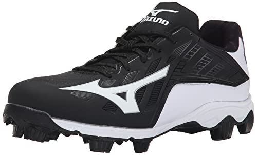 new product 4e192 25787 Mizuno Men s 9 Spike adv Franchise 8 bk-wh, Black White 7.5 M