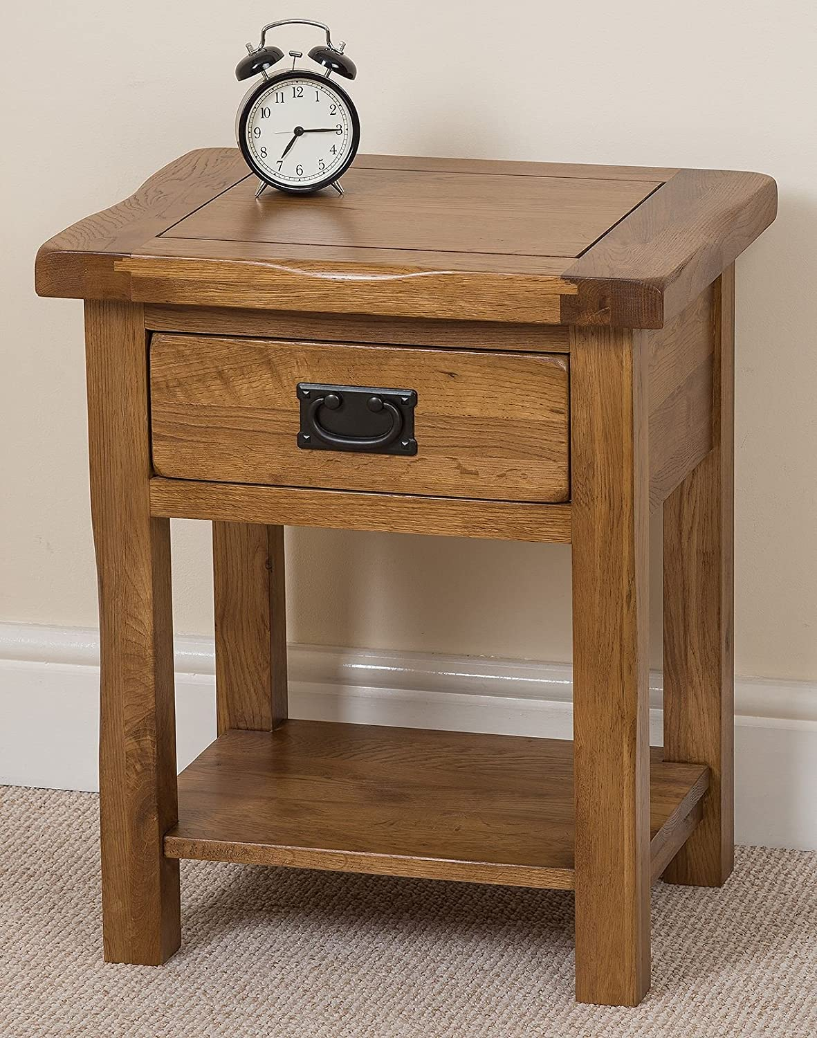 Exceptionnel Cotswold Solid Oak Lamp/Side Table, (61 X 41 X 50 Cm): Amazon.co.uk:  Kitchen U0026 Home
