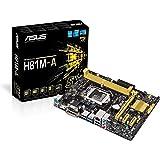 Asus H81M-A Motherboard (Socket 1150, Intel H81, DDR3, S-ATA 600, Micro ATX, PCI Express 2.0, HDMI, USB 3.0)