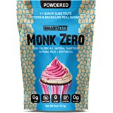 Monk Zero - Powdered Monk Fruit Sweetener, Non-Glycemic, Keto Approved, Zero Calories, 1:1 Confectioner Sugar Substitute…