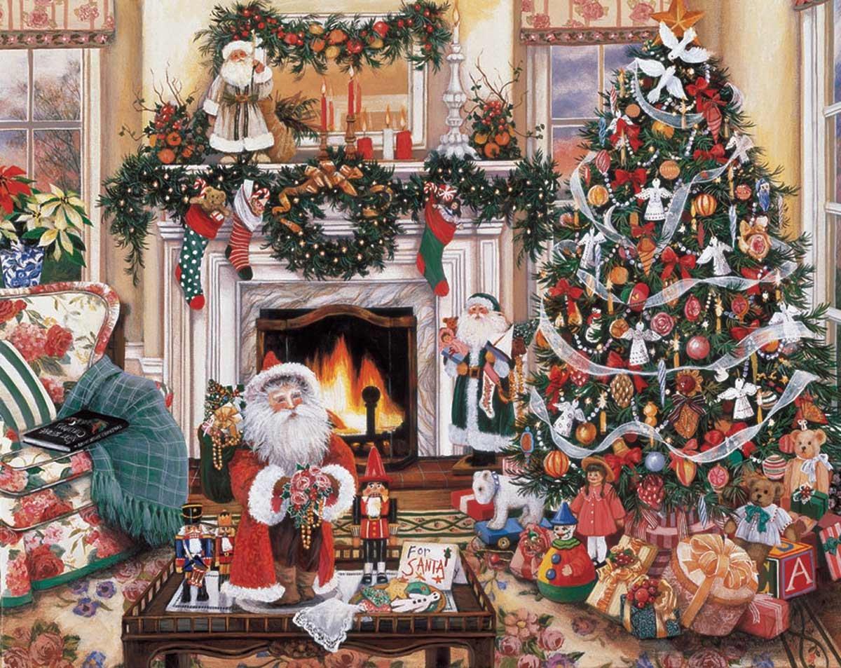 compra limitada blanco Mountain Puzzles Puzzles Puzzles Cozy Christmas  Ahorre 35% - 70% de descuento