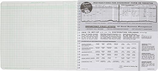 EKOA Ekonomik Check//Deposit Register