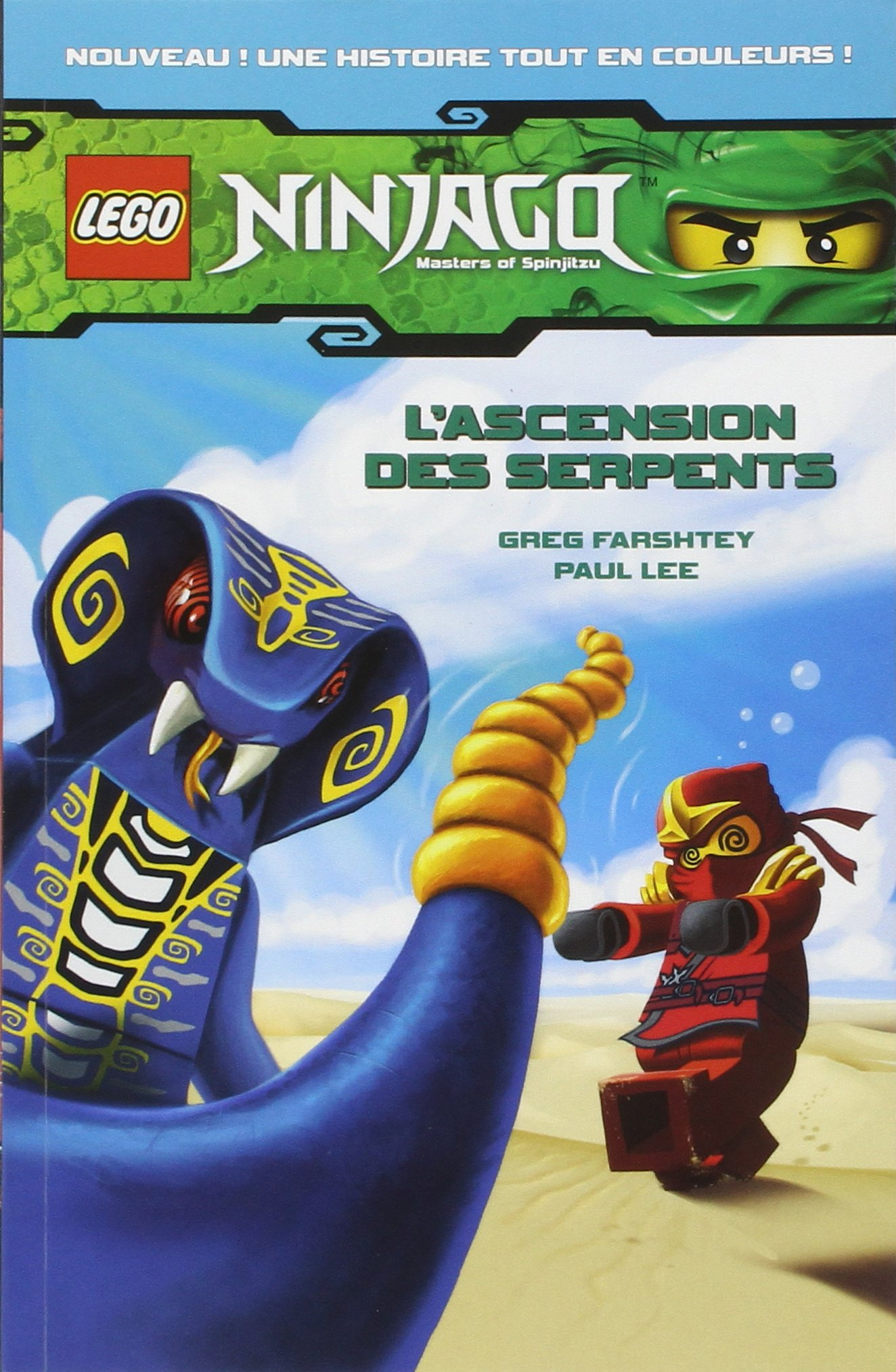 Amazon Fr Lego Ninjago Bd 1 L Ascension Des Serpents