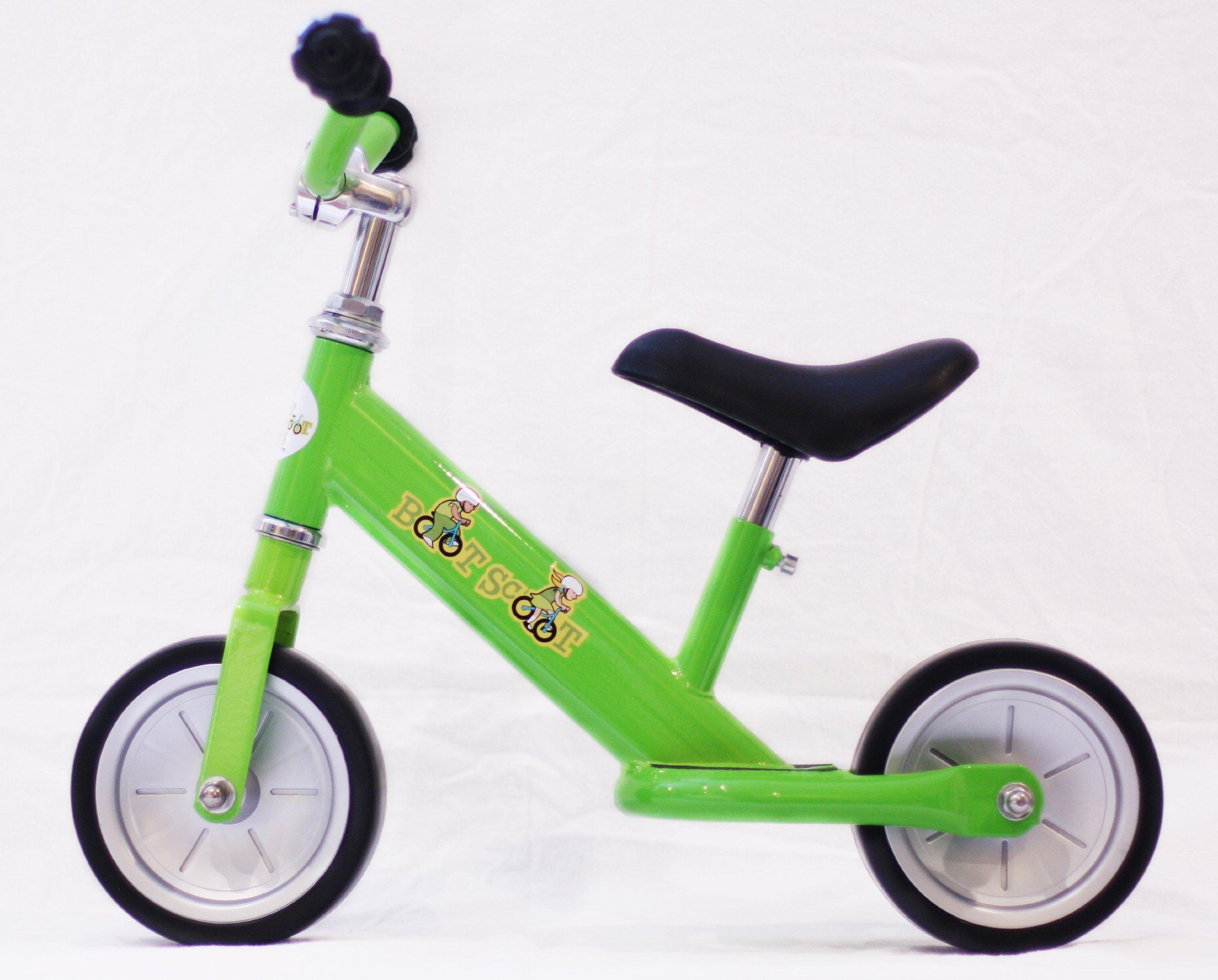 Boot Scoot Bikes Children's Bopper Balance Bike, Grass Green by Boot Scoot Bikes