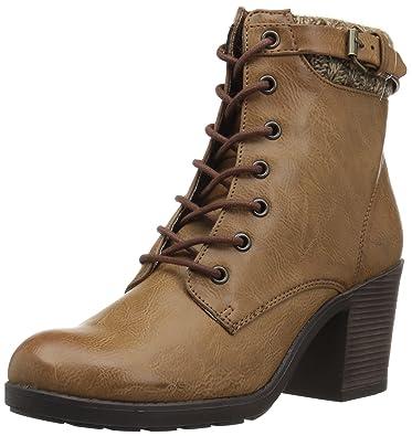 MIA Women's George Boot, Brown, ...