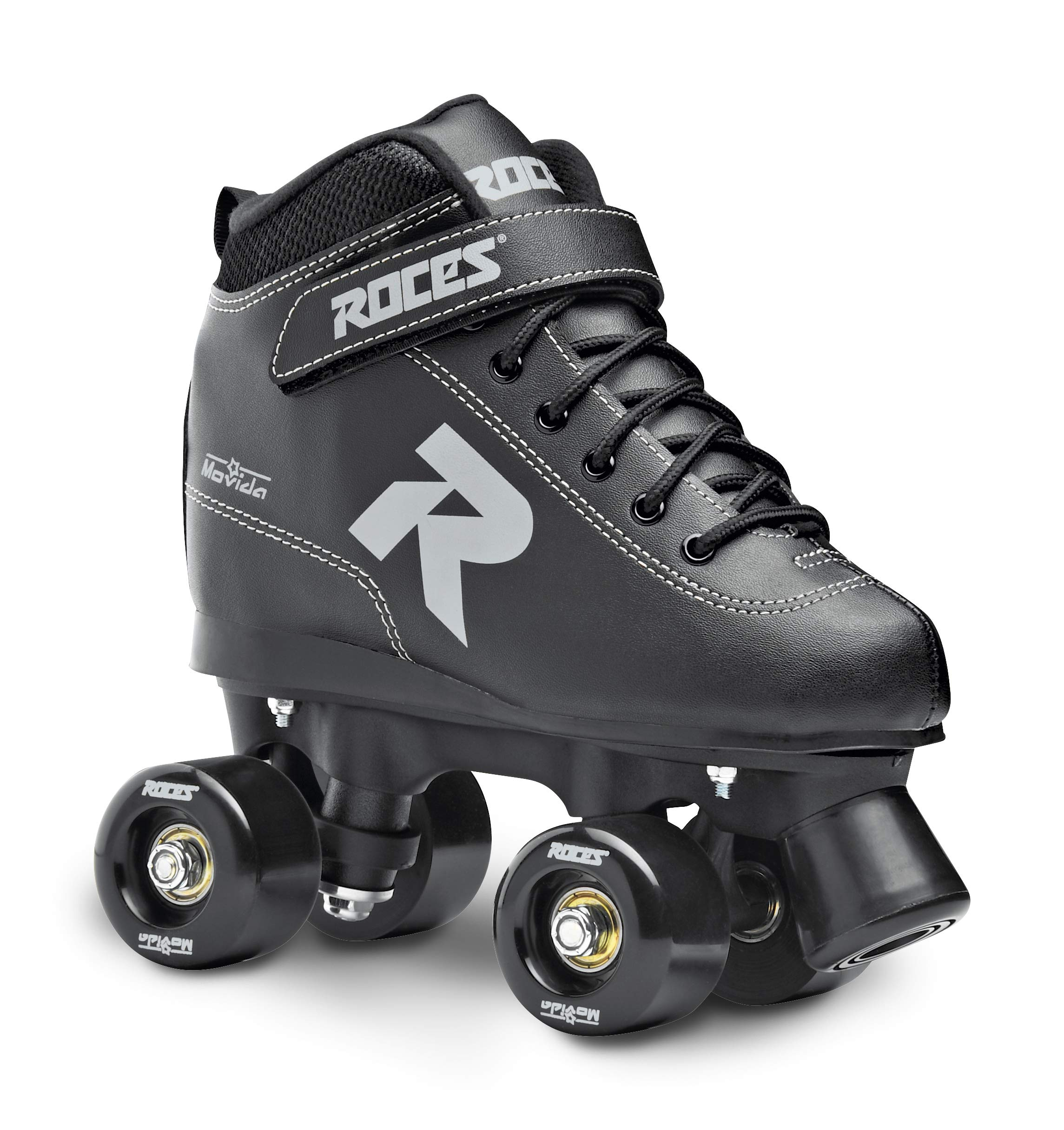 Roces 550068 Model Movida UP Roller Skate, US 10M/12W, Black