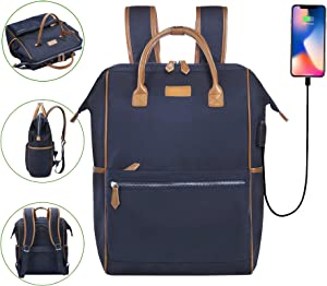 Desanissy Doctor Style Travel Backpack 15.6 Inch Laptop Backpack for Women
