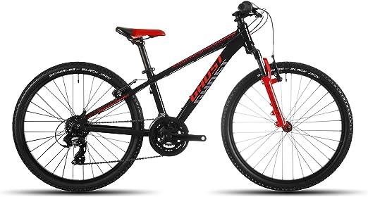 Ghost Powerkid 24 - Bicicleta Infantil (Modelo 2016), Color Negro ...