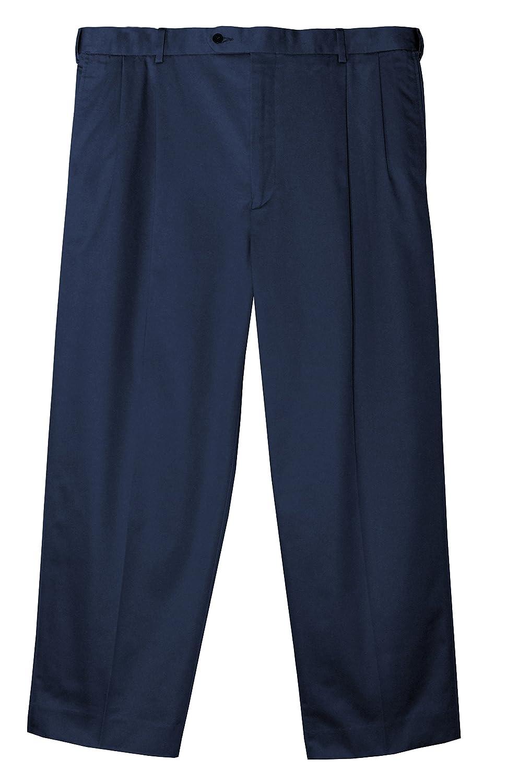 NAVY Jonathan Quale Big /& Tall Flex Waist PLEATED Casual Pant