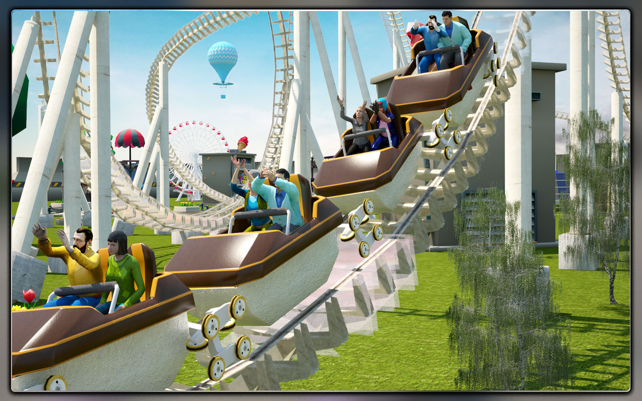 Roller Coaster Racing Simulator