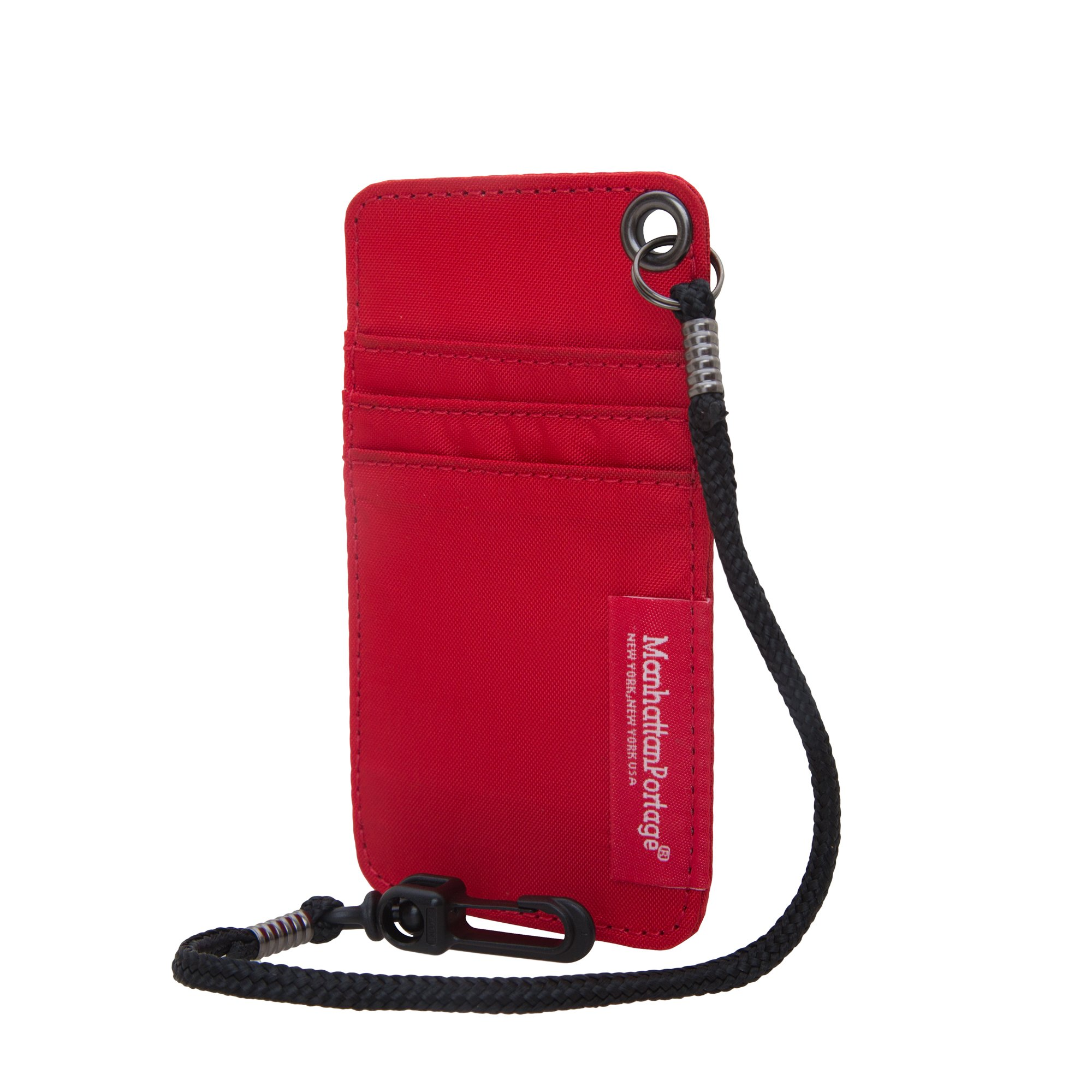 Manhattan Portage City Tech Id Case, Red, One Size