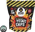 IRVINS Salted Egg Potato Chips HOT BOMB 105g
