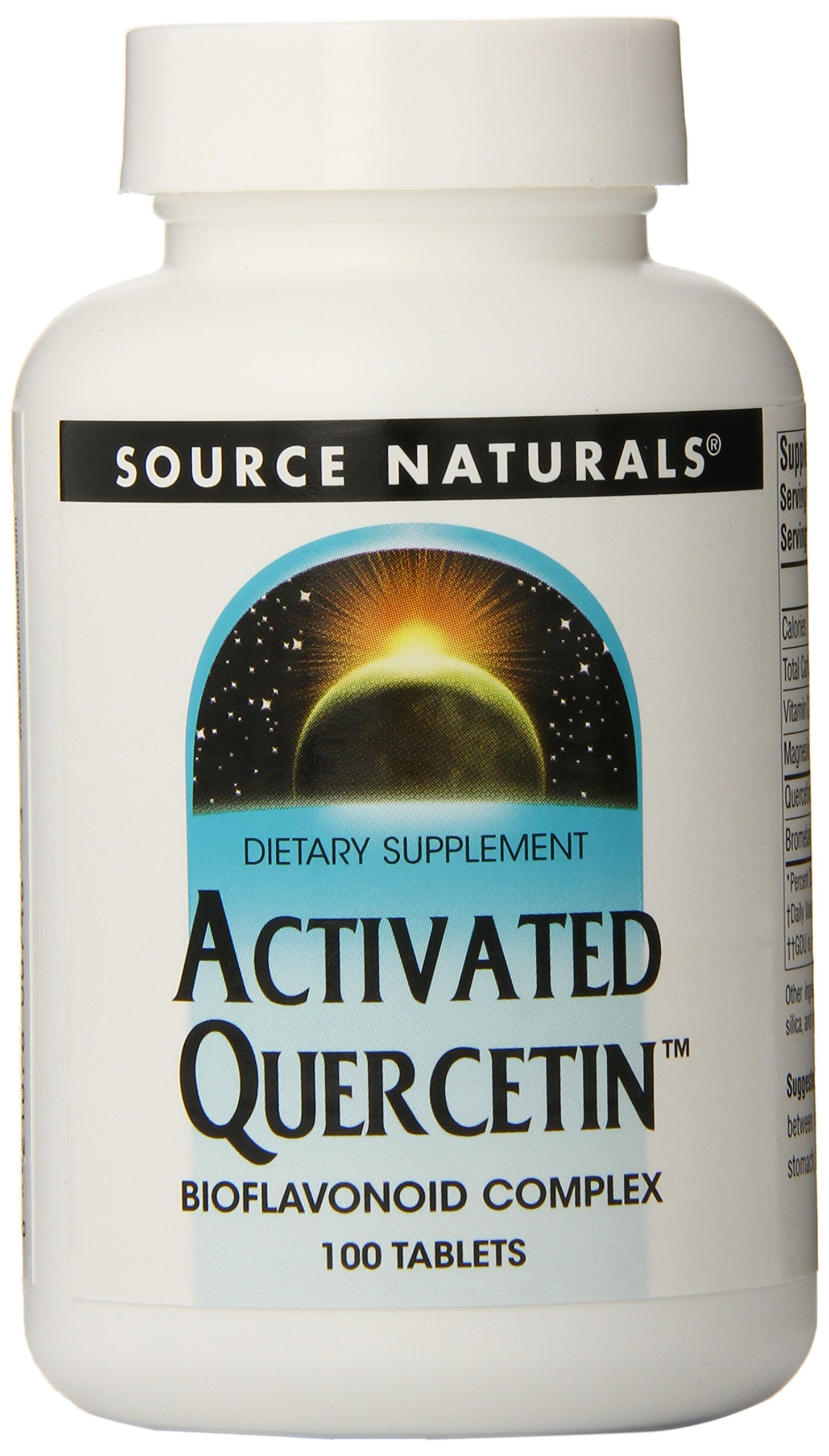 Source Naturals Activated Quercetin, 100 Count (Pack of 12)