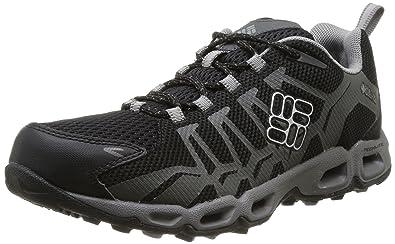 Columbia Men's Ventrailia Black Hiking Sneakers 8.5 M