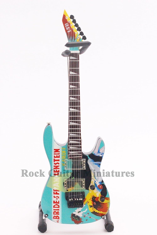 RGM116 Kirk Hammett Bride of Frankenstein Guitarra en miñatura: Amazon.es: Electrónica