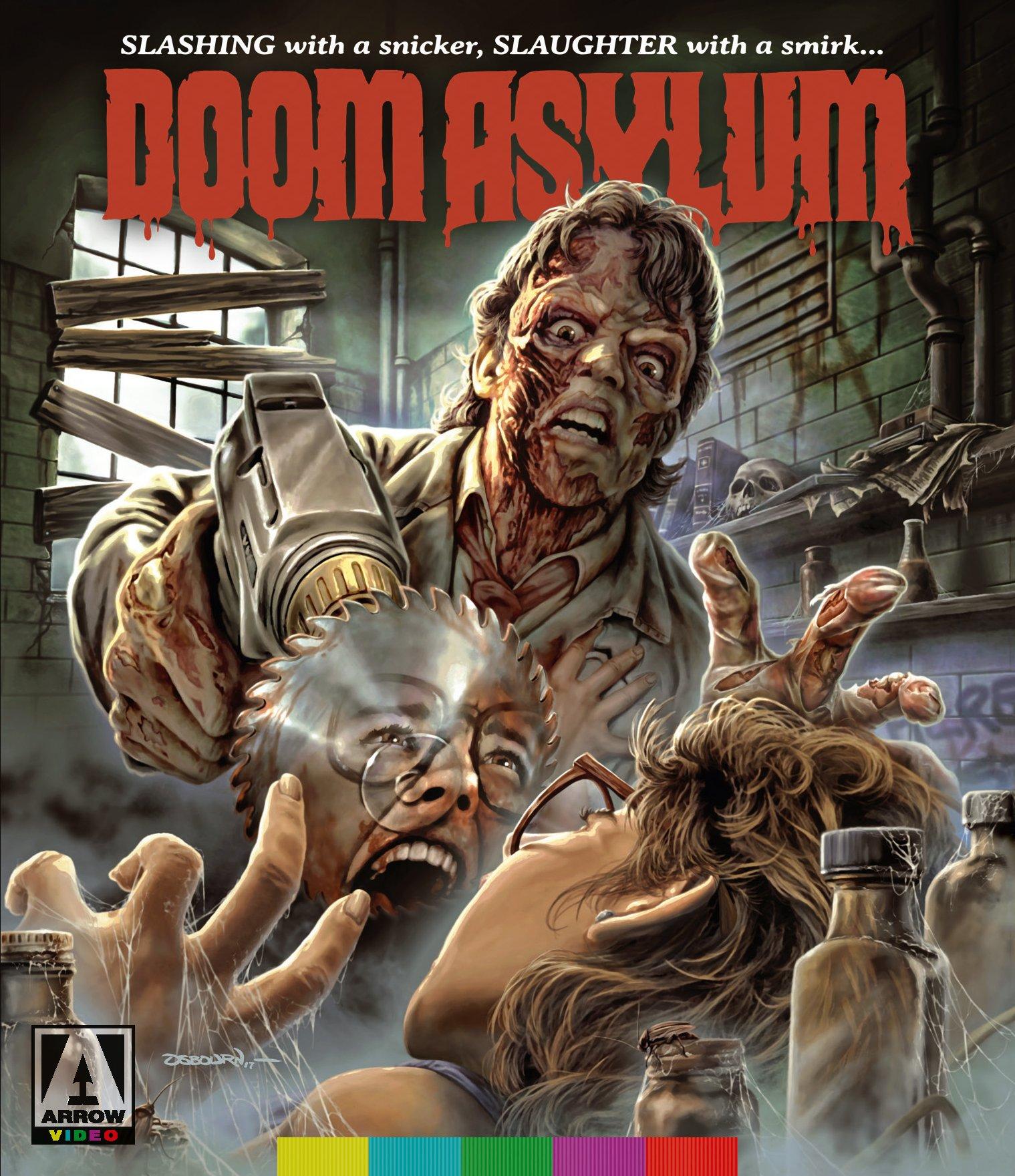 Blu-ray : Doom Asylum (Blu-ray)