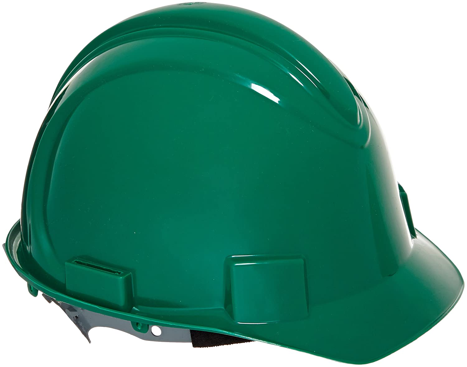 Pack of 12 Green Jackson Safety 20413 Charger High Density Polyethylene Hard Hat with 4 Point Pinlock Suspension