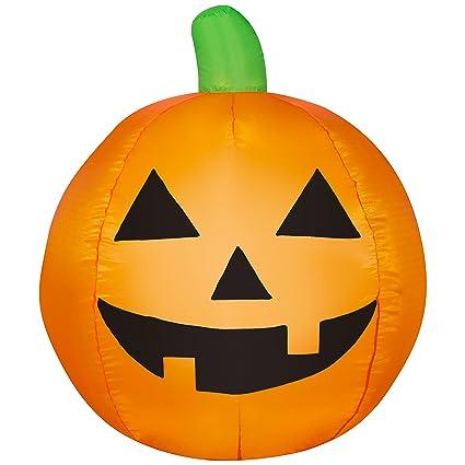 amazon com halloween pumpkin airblown inflatable jack o lantern 3