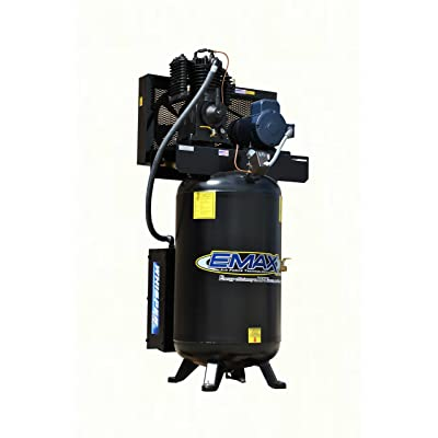 Emax ES05V080I1 80-Gallon Two-stage Vertical Silent Air System