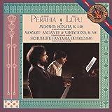 Mozart : Sonate K448 - Andante & Variations K501 - Schubert : Fantasia D940