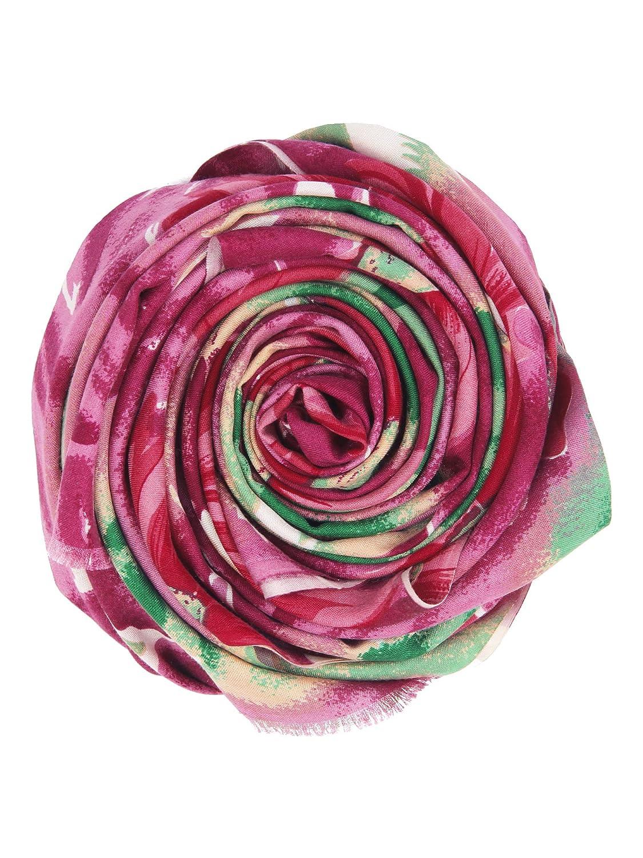 Kashfab 100/% Seide Schal Gedruckt Pr/üfen /& Streifen Damen Herren Schal Stole Pashmina Made im Kashmir